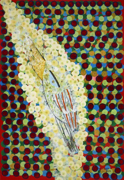 rolf jahn aufstieg 2012 acrylfarbe auf leinwand 160 x 110 cm