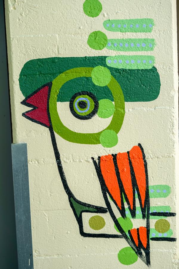 rolf jahn zoo köln wandmalerei fasanerie foto (c) w. scheurer 7300288