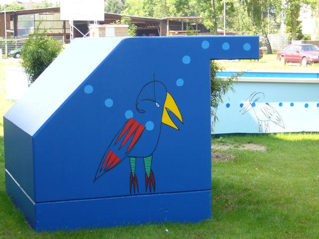 wandmalerei rolf jahn einfahrt tiefgarage amselstraße porz p1000844
